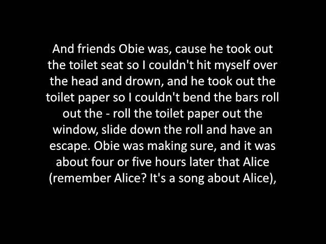 Arlo Guthrie Alice's Restaurant Massacree lyrics смотреть онлайн без регистрации
