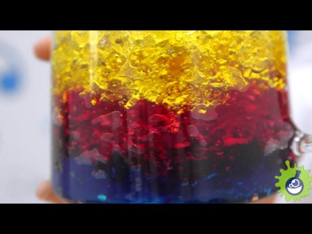 Водные разноцветные кристаллы. Аквагрунт!