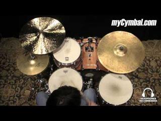 "Used Zildjian 20"" K Custom Ride Cymbal (UK20889-1111214E)"