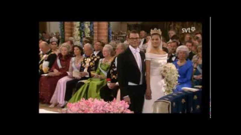 The Royal Wedding of Princess Victoria and Daniel Westling 2010