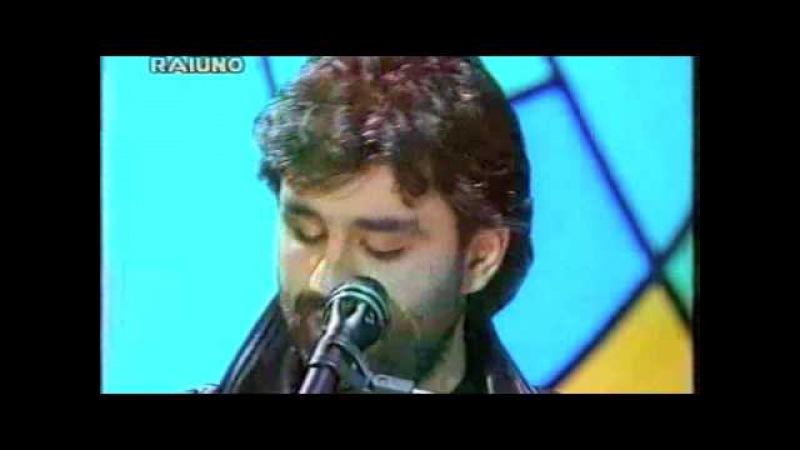 Andrea Bocelli - Il mare calmo della sera - Sanremo 1994.m4v