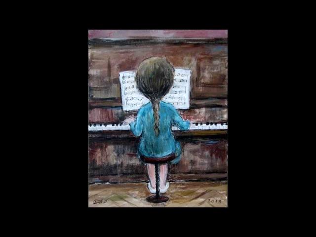 Piano Improvisation by Miranda Shvangiradze Art by Nino Chakvetadze