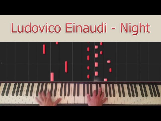 Night Ludovico Einaudi Synthesia
