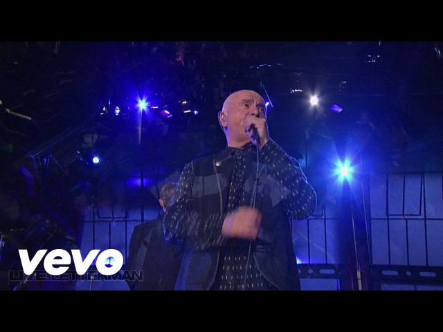 Peter Gabriel Solsbury Hill Live on Letterman