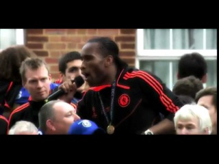 "Didier Drogba singing ""Super Frank"""