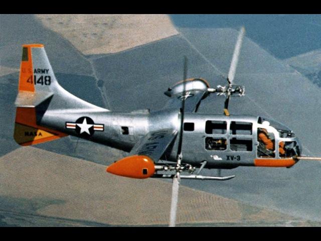 Bell XV-3 Convertiplane Promo Film - 1960