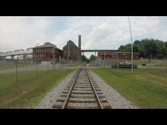 Riding on the Nose of a Locomotive from Nashville to Watertown TN