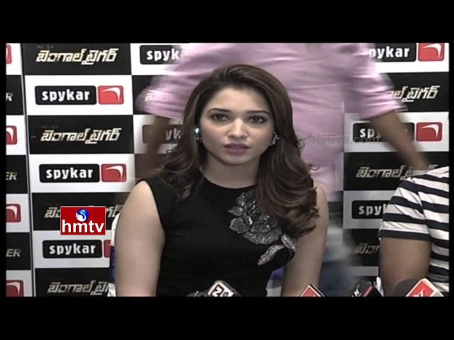 Tamanna Speaks Rashi Khanna Sings Bengal Tiger Movie Promotion Event HMTV