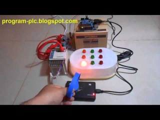 Mitsubishi PLC FX Series Communication with RFID USB Reader using Arduino USB Host