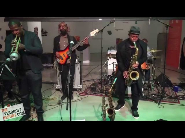 Marcus Strickland's Twi Life @ BRIC JazzFest Brooklyn NY 10 16 15