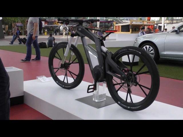 Audi E-Bike - Hautnah bei der Audi Erlebniswelt im Flughafen München