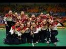Сборная России по гандболу в РИО-2016! Российские гандболистки завоевали золото олимпиады!