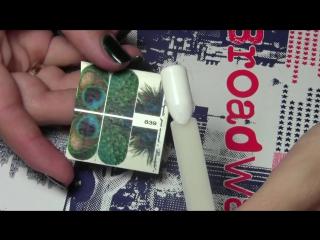 Как закрепить слайдер-дизайн на гель-лак намертво
