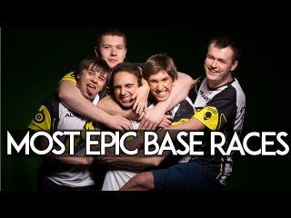 MOST EPIC BASE RACES in Dota 2 History.