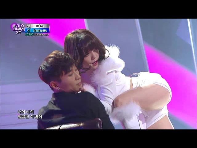 【TVPP】AOA - Miniskirt Like A Cat, 에이오에이 - 짧은 치마 사뿐사뿐 @ 2014 KMF Live