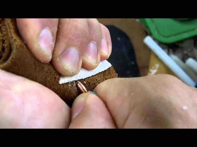 261 Vlog Very Thin Cahokia Arrowhead Flintknapping Burlington Chert