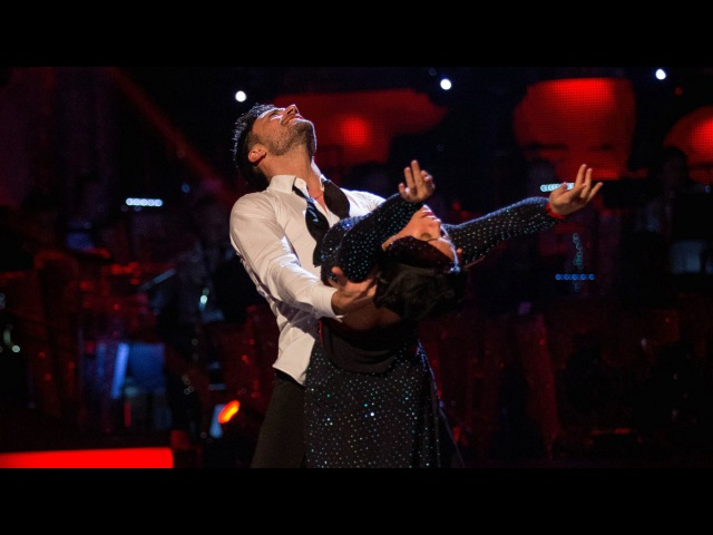 Georgia May Foote Giovanni Pernice Rumba to 'Writing's On The Wall' Strictly Come Dancing 2015