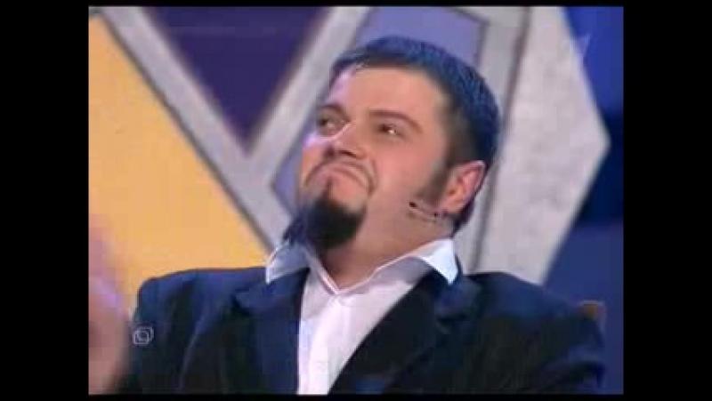 [Квн] 2005 1-й четвертьфинал (Нарты из Абхазии, Мегаполис, ЛУНА, Добрянка, Незолотая молодежь) 2