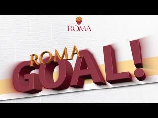 AS ROMA BEAT LAZIO 4-1 GO PRO LIVE CALLS | GOAL! | AS ROMA