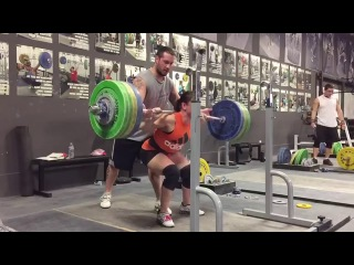 Alyssa Sulay Back Squat 141kg at 63kg Bodyweight