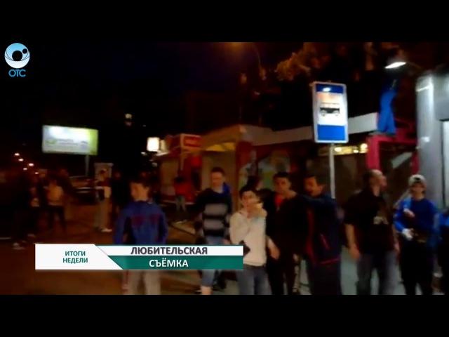 На известной улице в Дзержинском районе действуют законы 90 х