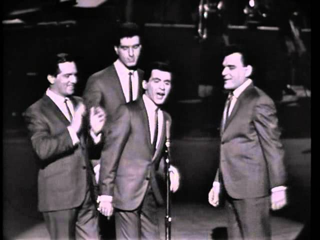 Frankie Valli and the Four Seasons performing Big Girls Don t Cry 1964