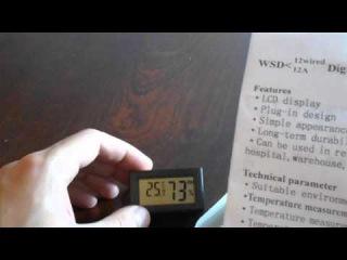 Видеообзор датчика температуры и относительной влажности воздуха