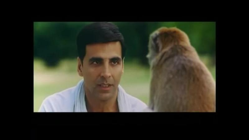 Monkey fight akshay kumar vs monkey housefull comedy scene .mov - YouTube_2