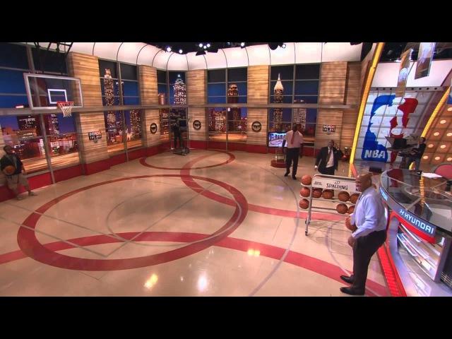 Shaq vs Charles Barkley 3pt shootout - Inside The NBA