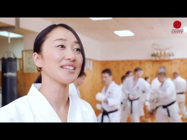 JKA Karate with Takahashi Yuko Instructor Karate JKA Japan Courses in Russia