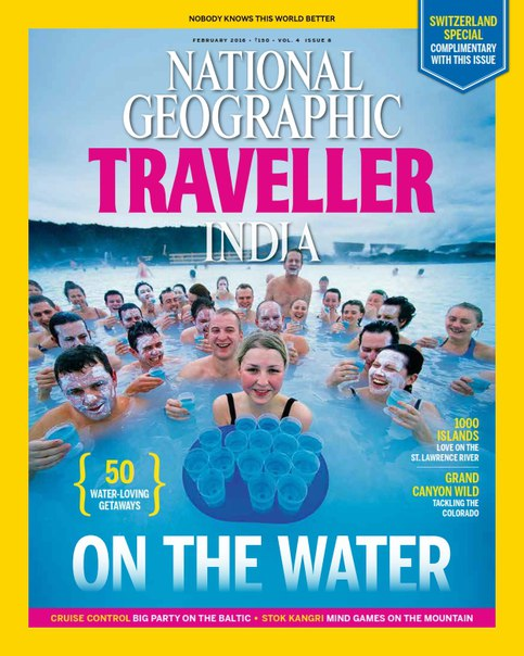 National Geographic Traveller India - February 2016