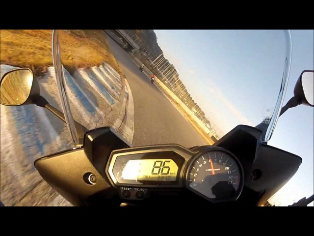 Yamaha FZ 1 Track Day On Board GoPro HD