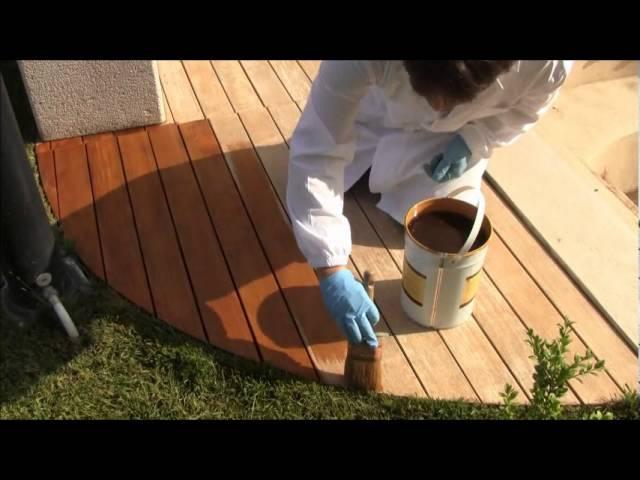 Borma Wachs Pulizia e Trattamento ad Olio di Bordo Piscina in legno