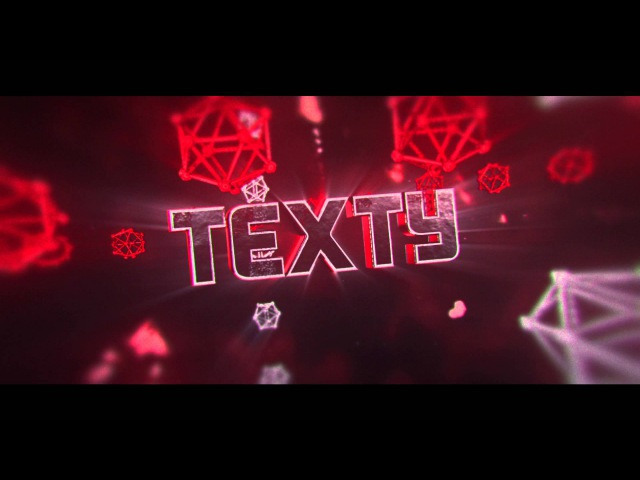 Epic Sync Intro Template for AE/C4D | TEXTY