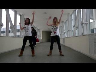 Танец на Видеобаттл 4 Happy New Dance от Крутоголовой Виктории и Ха Анны