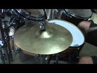 "13"" Zildjian Z Custom Hi Hat cymbals"