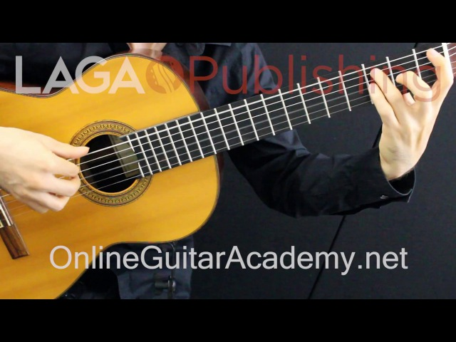 The Four Seasons, Autumn, 3rd mvt, A.Vivaldi (solo classical guitar arrangement by Emre Sabuncuoglu)