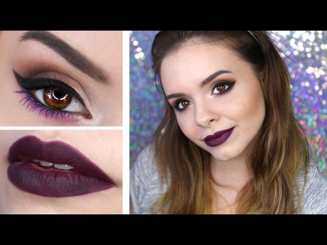 DEEP PURPLE • Chit Chat Makeup Tutorial • Andrea Russett inspirierter Look