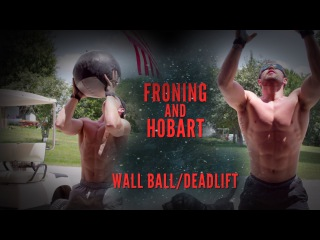Rich Froning and James Hobart do Workout 150718