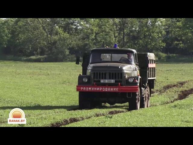 Взрыв 500 килограммовой бомбы в Светлогорске