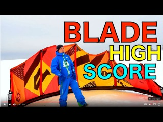 KITEWORLD TV : Видео обзор кайта Blade High Score