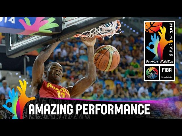 Yanick Moreira Amazing Performance 2014 FIBA Basketball World Cup