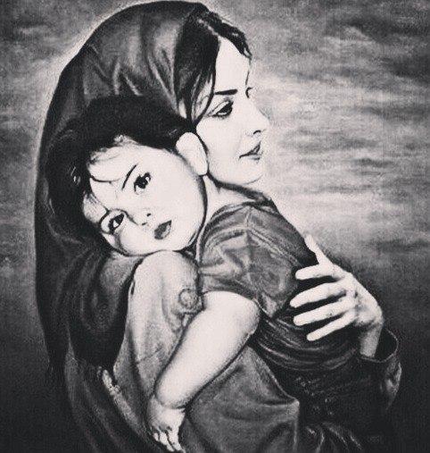 поклон матери картинки только вспомнить