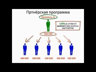Единар-коин (EDC). Регистрация кошелька и обзор аккаунта.
