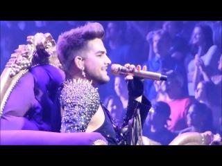 Adam Lambert being killer in Killer Queen compilation