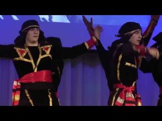 """Огни Кавказа - Грузинский военный танец Хоруми / Ogni Kavkaza - """"Khorumi"""" dance"""