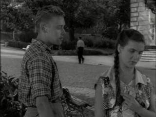 Повесть о первой любви (1957) - мелодрама, реж. Василий Левин