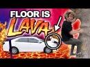 FLOOR IS LAVA (TAKEN TOO FAR) CHALLENGE GONE WRONG!!