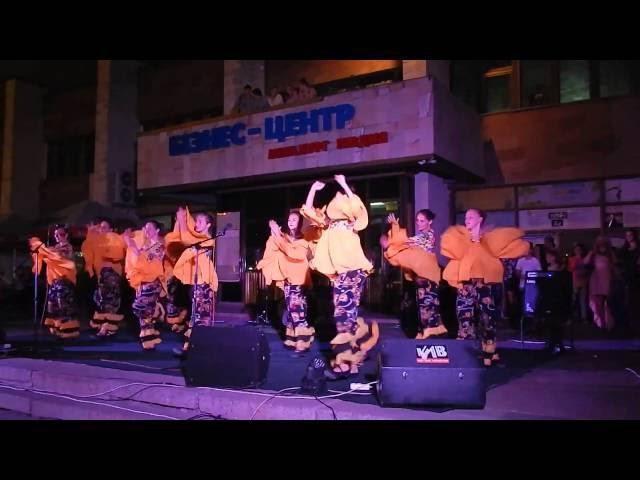 концерт ко Дню города в Корабельном районе (видео Корабелов.Инфо)