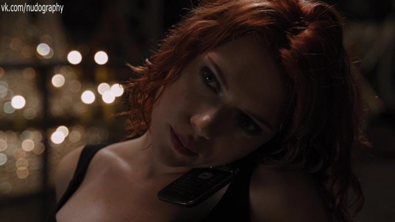 Скарлетт Йоханссон (Scarlett Johansson) в фильме Мстители (The Avengers, 2012, Джосс Уидон) 1080p